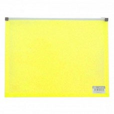 CBE 132A PP Zip Holder - Yellow (Item No: B10-03 Y) A1R3B160