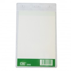 CBE 2552 Name Badge W/O Clip (100MM X 140MM)