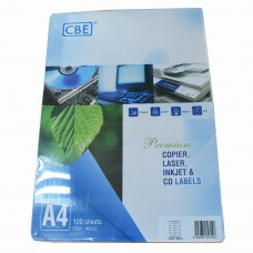 CBE Inkjet Label 30314- (38mm X 105mm)