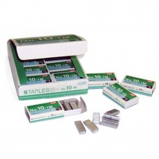 MAX Staples No.10-1M Bullet - 20 boxes/pack (Item No: B07-16) A1R1B86