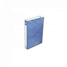 K2 8925 Fancy Hard Cover Ring File (Blue) - 25mm, 2D, 1 pcs