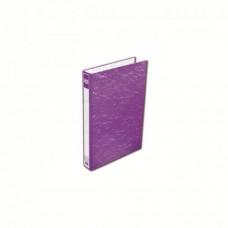 K2 8925 Fancy Hard Cover Ring File (Purple) - 25mm, 2D, 1 pcs
