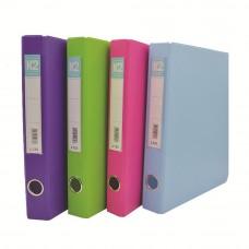 L125 25mm 2D Glue Ring File A4 - Mix Color