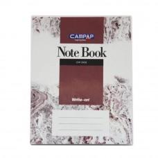 Campap Cw2302 F5 Pvc Cover Note Book 200P (Item No: C02-02) A1R4B1170P