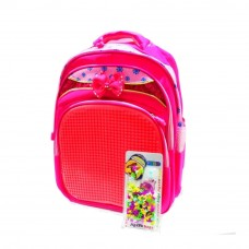 Puzzle Bag Big Size Red Pink (A1628)