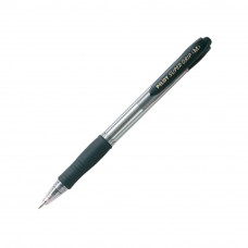 Pilot BPGP-10R Medium Super Grip Ball Pen 1mm - Black