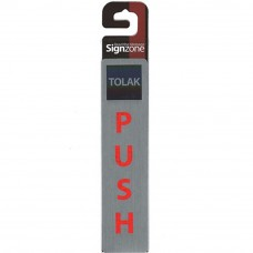 Signzone P&S Metallic -45190 PUSH (Item No: R01-91)