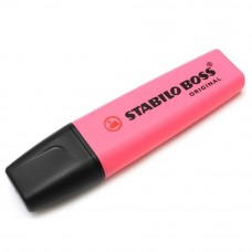 STABILO Boss Original Highlighter Pen - 70/56 PINK (Item No: A14-01 SSBOSSPK) A1R3B59