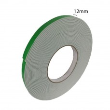 Double Sided Eva Foam Tape (White) - 12mm X 8m