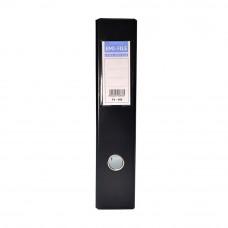 EMI PVC 75mm Lever Arch File F4 - Black