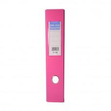 EMI PVC 75mm Lever Arch File F4 - Fancy Pink