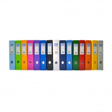 EMI PVC 75mm Lever Arch File F4 - Mix Color