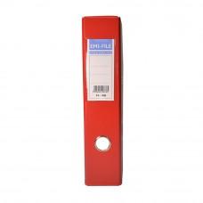 EMI PVC 75mm Lever Arch File F4 - Red