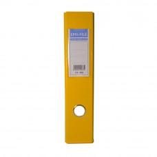 EMI PVC 75mm Lever Arch File F4 - Yellow