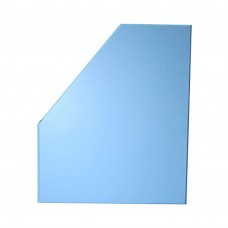 "5"" PVC Magazine Box File - Fancy Blue"