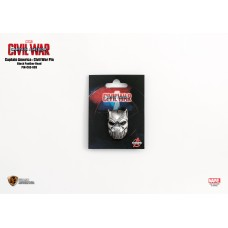 Marvel Captain America 3 Pin Black Panther head (PIN-CA3-003)