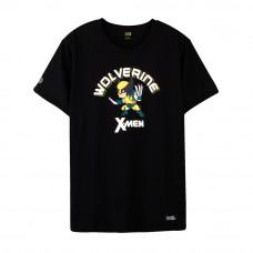 X-Men Wolverine T-Shirt (Black, Size L)