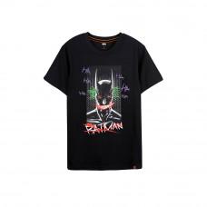 Batman Series: Batman Graffiti Tee (Black, Size L)