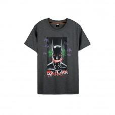 Batman Series: Batman Graffiti Tee (Dark Gray, Size L)