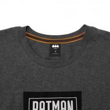 Batman Series: 80TH Logo Tee (Dark Gray, Size L)