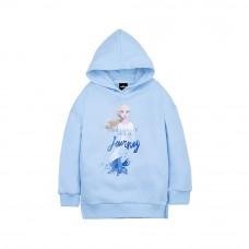 Frozen 2 Series: Elsa Kids Hoodie (Blue, Size 100)