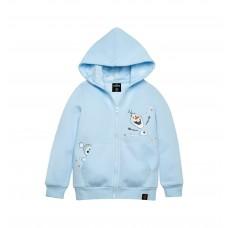Frozen 2 Series : Olaf - Kids Hoodie Jacket (Blue - Size 100)