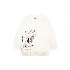 Frozen 2 Series: Olaf Kids Sweatshirt (White, Size 100)