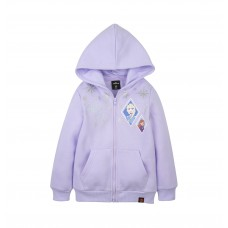 Frozen 2 Series : Sister Love - Kids Hoodie Jacket (Purple - Size 100)