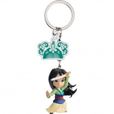 Disney Princess Egg Attack Keychain - Mulan Series