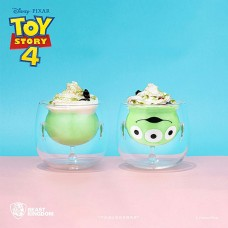 Beast Kingdom Double Wall Glass Mug Series: Toy Story 4 - Alien Double Layer Glass Cup 180ML (Limited Edition)