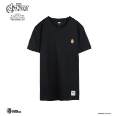 Avengers: Avengers Tee Embroidery Series Iron Man - Black, L