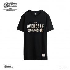 Avengers: Avengers Tee Group - Black, M