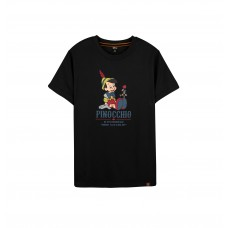 Disney Classic Series: Pinocchio Tee (Black, L)