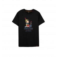Disney Classic Series: Pinocchio Tee (Black, S)