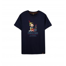 Disney Classic Series: Pinocchio Tee (Blue, XL)