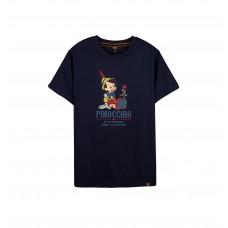 Disney Classic Series: Pinocchio Tee (Blue, XXL)