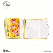 Disney Tsum Tsum Coil Magnetic Buckle Notebook - Pooh Characters