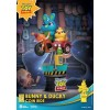 Disney Pixar : Diorama Stage : Coin Ride - Bunny & Ducky (DS-062)