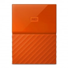 WD Western Digital My Passport USB 3.0 Hard Drive - 1TB Orange (WDBYNN0010BOR)