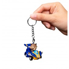 Avengers: Infinity War Pull back car keychain series Rocket