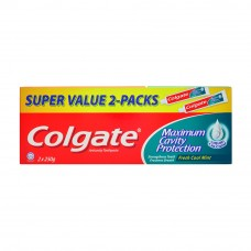 Colgate Maximum Cavity Protection Fresh Cool Mint Toothpaste 2 x 250g