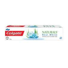 Colgate Naturals Real White (Seaweed And Crystalline Salts) Toothpaste 120g
