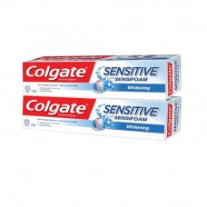 Colgate Sensitive Foam Active Whitening Toothpaste Twin pack 120g x 2