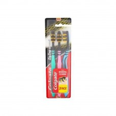 Colgate ZigZag Charcoal Toothbrush Value 3 pack