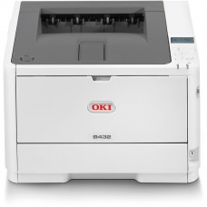 OKI B432dn Mono Printer B400 Series Duplex, Network LED Printer - 45762013