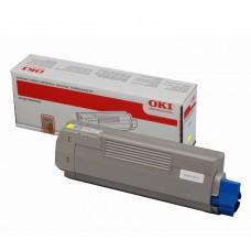 OKI C612 Yellow Toner 6K APSTNRFG - 46507509
