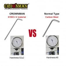 Crownman 9PCS/SET Hex Key Wrench